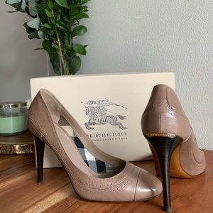 NEW Burberry Stawell pump